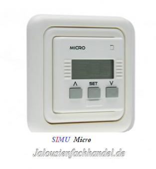 Wandsender mit Zeitschaltuhr Micro von Simu
