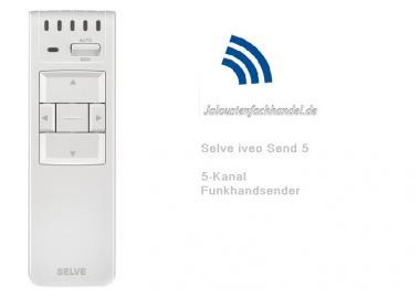 Selve iveo Send 1-Kanal Funk Handsender, 298713 - Nachfolger Selve i-R Send