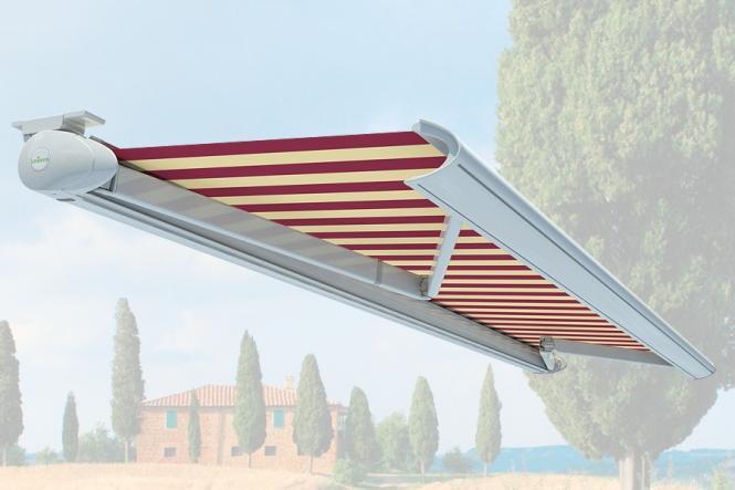 Lewens Toscana Vollkassetten Markise Breite 250 cm x Ausfall 150 cm