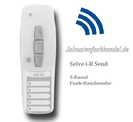 Selve i-R Send 5-Kanal Funk Handsender, 298712